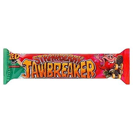 da218f0c1f Zed Candy Strawberry Jawbreaker 41.3g (Pack of 38)  Amazon.co.uk  Kitchen    Home