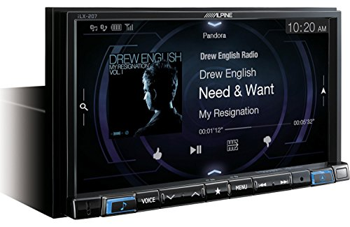 Alpine iLX-207 Compatible with Car Play & Android Auto with Rear View Camera, Steering Interface & Trigger Module by Alpine (Image #2)