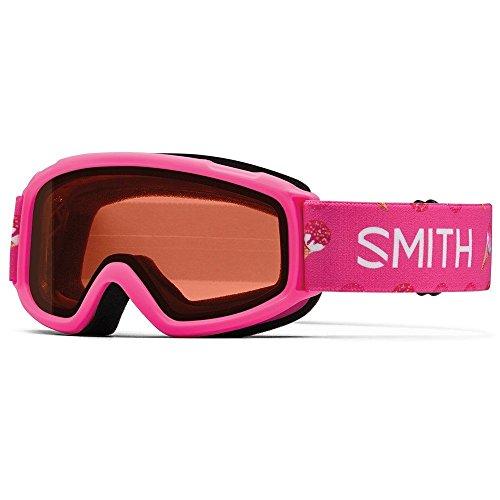 Junior Girls Ski (Smith Optics Unisex Sidekick Goggles, Pink Sugarcone/Rc36 -)