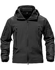 TACVASEN Men's Special Ops Military Tactical Soft Shell Jacket Coat