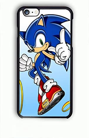 QIE KE NAOV Sonic The Hedgehog Run for Cover iPhone 6/6S Casos ...