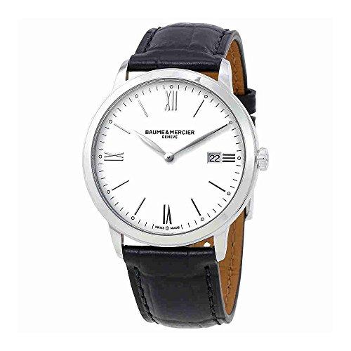 Baume et Mercier Classima White Dial Mens Watch 10323