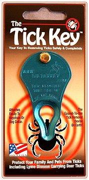 TickKey Tick Removal Tool BLUE, My Pet Supplies
