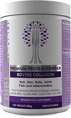Bovine Hydrolysed Collagen Protein Powder - Wrinkles, Hair, Skin, Nails, Bones,...