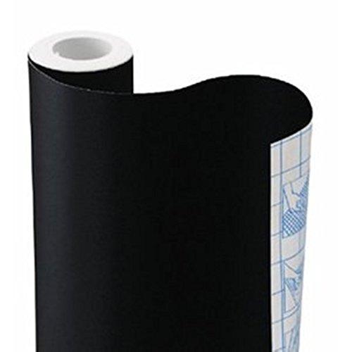 Zip Tac Self-Adhesive Shelf Liner - 9ft x17.75in (Black)
