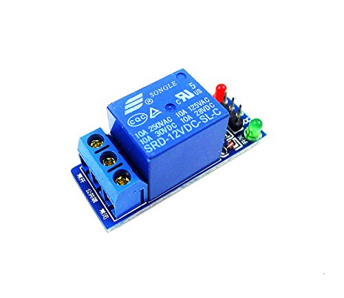 GERI® 12V 1 Channel One Channel Relay Module High Level Triger for Arduino AVR PIC (For Pics One)