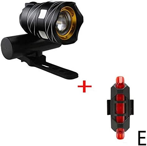 USB Rechargeable 15000LM T6 LED Zoomable Head Lamp Night Bike Front Bike Light