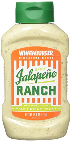 Whataburger Signature Condiments & Sauces (Spicy Jalapeno ()