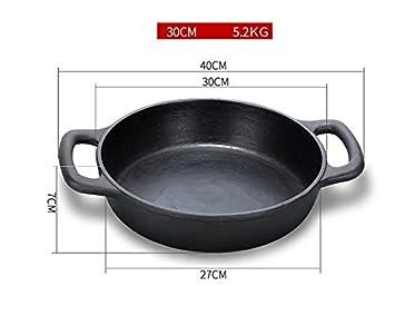 WJF Sopa de cacerola Cacerola Cazo Cazo de hierro fundido Cacerola ...