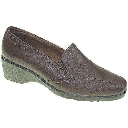 HURAN - Zapato señora - Modelo 0305 MARRÓN