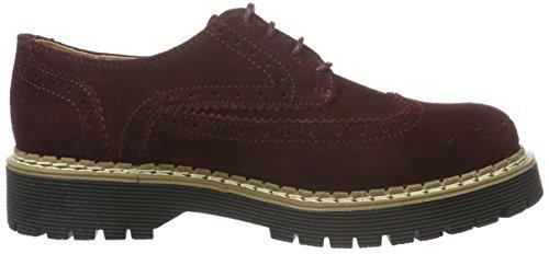 Bronx Rent 65745-B - Zapatos de cordones para mujer Violeta (Aubergine 86)