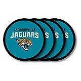 Duck House NFL Jacksonville Jaguars Vinyl Coaster Set (Pack of 4)