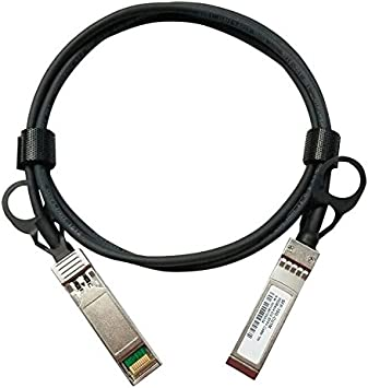 Passive 0.5-Meter Jeirdus 10G SFP 1.6-ft DAC Cable for Cisco 10GBASE-CU Direct Attach Copper Twinax Cable Connector