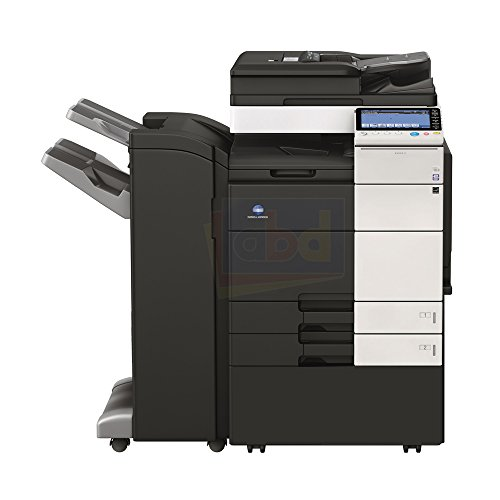 Stapling Finisher (Konica Minolta BizHub C654 Tabloid-size Color Laser Multifunction Copier - 65ppm, Copy, Print, Scan, Fax, FS-534 Stapling Finisher)