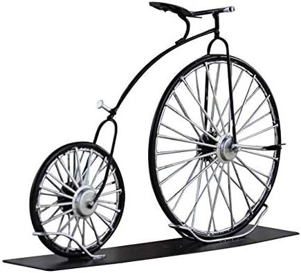 LIJUN Bici de la Lata/Modelo Grande de la Bici de la Rueda/Hierro Productos decoración Inglés de la Personalidad Bicicleta Modelo: Amazon.es: Hogar