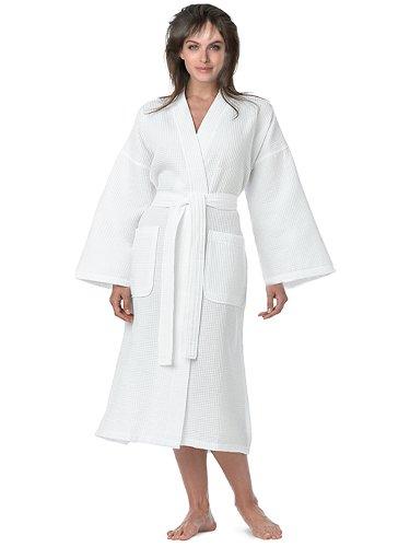 eluxury-womens-lightweight-long-waffle-kimono-robe-s-m-white