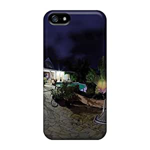 New Snap-on JoshuaLGolden Skin Case Cover Compatible With Iphone 5/5s- Bungalow At Night