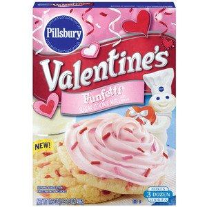 Amazon Com Pillsbury Valentine S Funfetti Sugar Cookie Mix W