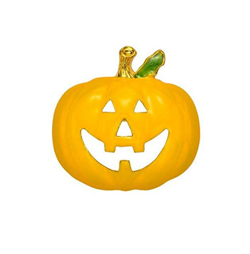 Popular Halloween Costumes For 2016 (Zmdnys Halloween Costume Jewelry Pumpkin Brooch Pin (face 1))