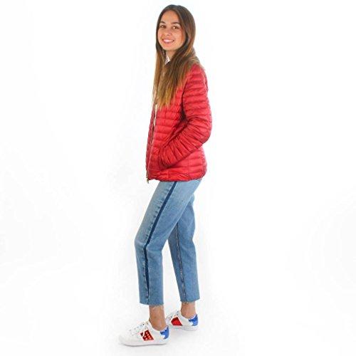 Geox Damen Woman Jacket Leichte Jacke Rot 0jnE5uxM7
