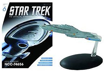 USS Voyager/'s aeroshuttle-alemán metal MODELO DIECAST #78 Star Trek