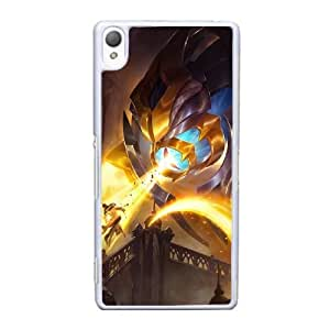 Sony Xperia Z3 Cell Phone Case White League of Legends Arclight AS7YD3586416