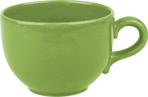 Waechtersbach Fun Factory II Green Apple Jumbo Cups, Set of 4