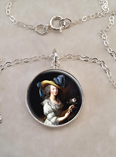Queen Marie Antoinette .925 Sterling Silver Necklace
