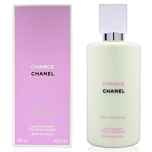 C H A N E L CHANCE EAU FRAÎCHE Body Moisture Lotion 6.8 oz/200 ml Sealed NIB (Chanel No 5 Lotion For Women)