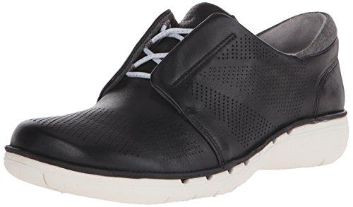Clarks zapato que camina Leather del Black Voltra Un 7grqxw57
