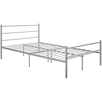 Amazon Com Greenforest Bed Frame Full Size Metal Two