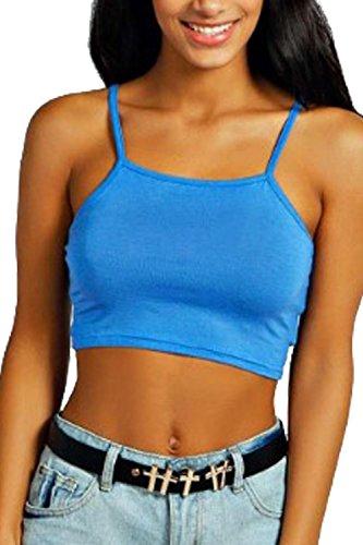 Vanilla Inc - Camiseta sin mangas - para mujer turquesa