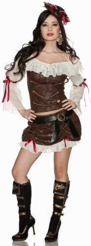 Delicious Ahoy Baby Costume, Multi, Large (Renaissance Skirt & Hat)