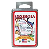 Georgia Playing Cards State Map 24 Display unit Case Pack 96