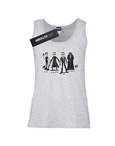 Agent Alex X Chenery large Doodle Gris Sin Mujer Mangas Camiseta Deporte qqU7gEzHr