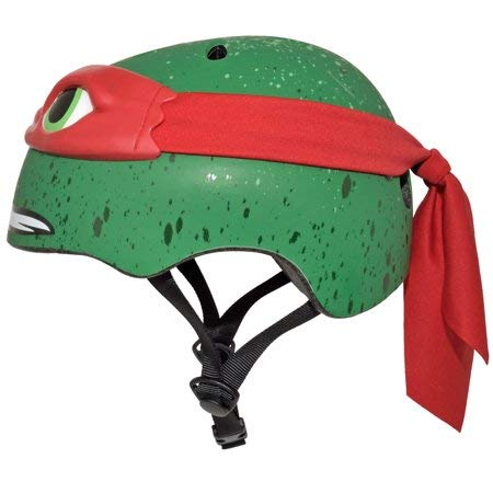 e3a5be5447f Amazon.com: Teenage Mutant Ninja Turtles 16 Inch Boy's Bike With Matching  TMNT Raphael Helmet, TMNT Elbow And Knee Pads, Bundle: Health & Personal  Care