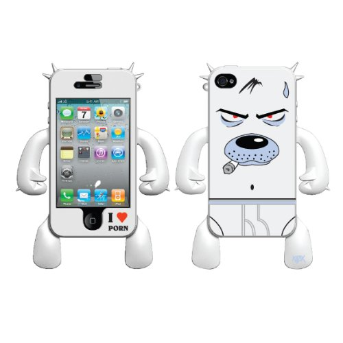 Pornmonger Frank Kozik Robotector Character Silicone Skin for iPhone 4/4S