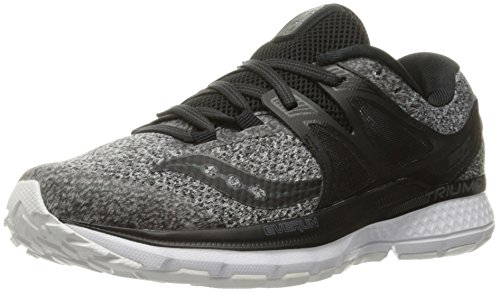 Black LR Grey Running Shoes 3 Saucony Women's ISO Triumph R611q8