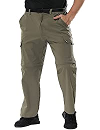 Men's Outdoor Quick Drying Convertible Hiking Pants