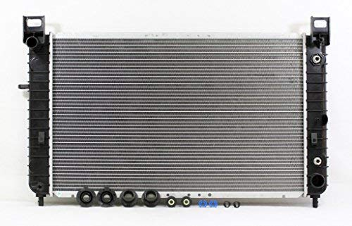 2001 Gmc Yukon Radiator - Radiator - Pacific Best Inc For/Fit 2334 Chevrolet Silverado GMC Sierra Pickup V8 4.8/5.3 WITHOUT REAR A/C