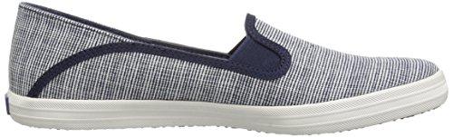 Keds Womens Crashback Slub Stripe Sneaker Navy JvIXHAY