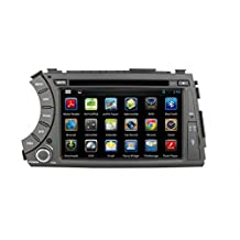 Generic Android 4.4 8 Inch 1024X600 resolution Car DVD Navigation Audio Video GPS StereoAudio Great Wall Hover H6