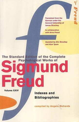 Download The Complete Psychological Works of Sigmund Freud: Indexes and Bibliographies v. 24 pdf epub