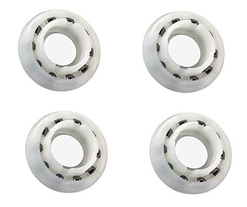 - ATIE PoolSupplyTown Pool Cleaner Wheel Bearing Replacement for Pentair Legend Pool Cleaner Wheel Bearing EC60 (4 Pack)