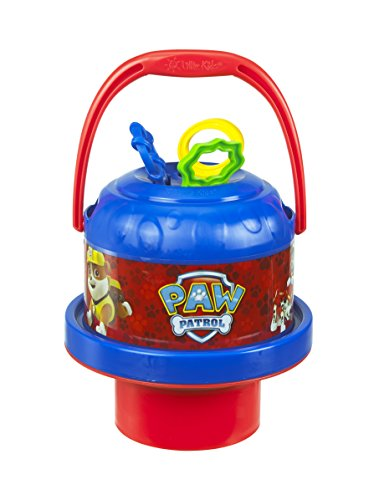 Little Kids Nickelodeon Paw Patrol No-Spill Bubblin' Bucket (No Spill Bubble Machine)