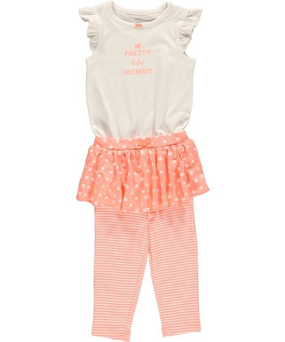 Carter's Baby Girls' 2 Piece Dot Tutu Set (Baby)