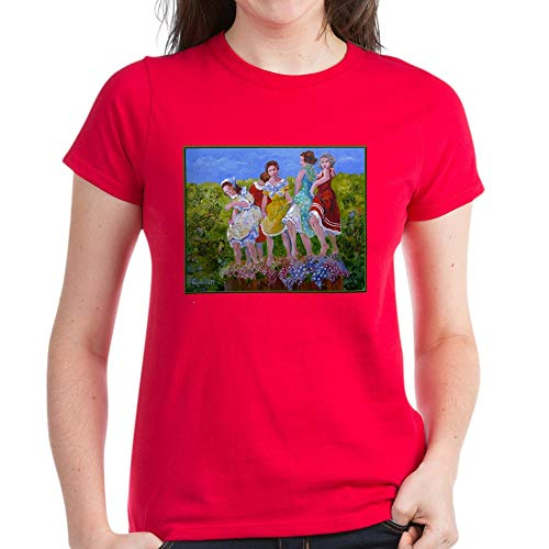 CafePress Wine Making T Shirt Womens Cotton T-Shirt