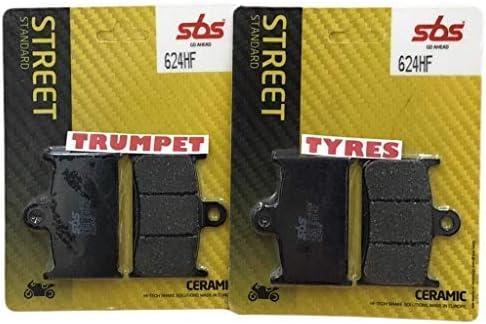 Triumph Rocket III 3 Roadster 2300 10 11 12 13 14 15 16 17 18 Front SBS Performance Ceramic Brake Pads Set Genuine OE Quality 624HF