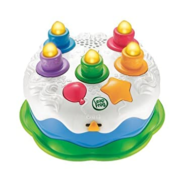Leapfrog Counting Candles Birthday Cake Children Kids Game