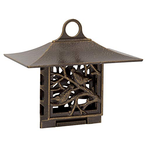 Whitehall Products Nuthatch Suet Feeder, French Bronze
